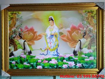 Tranh Canvas Phật Bà Quan Âm Bồ Tát
