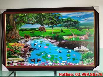 Tranh Canvas phong cảnh thiên nhiên 6