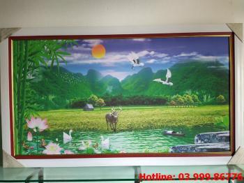 Tranh Canvas phong cảnh thiên nhiên 5