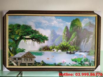 Tranh Canvas phong cảnh thiên nhiên 4