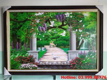 Tranh Canvas phong cảnh thiên nhiên 2