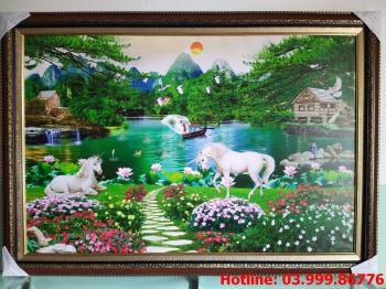 Tranh Canvas phong cảnh thiên nhiên 1