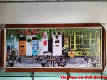 Tranh Canvas Cafe 2
