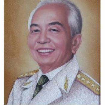 Tranh đại tướng Võ Nguyên Giáp