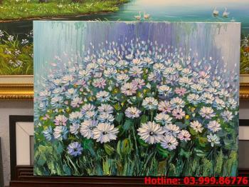 12 Tranh Hoa kích thước tranh vẽ theo đề nghị khách hàng