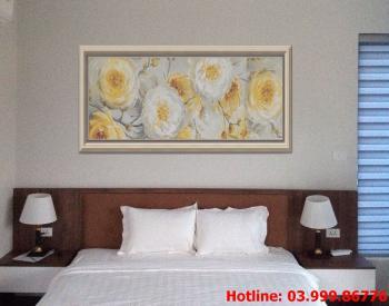 10 Tranh Hoa kích thước tranh vẽ theo đề nghị khách hàng