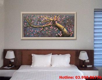 7 Tranh Hoa kích thước tranh vẽ theo đề nghị khách hàng